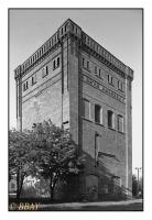 Tour Malakoff du puits Andrzej (1870), Ruda Slaska, Slask, Polska, 2011 - argentique