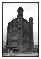 Tour Malakoff du puits Westhausen 1 (1873), Dortmund-Bodelschwingh, Ruhr, Deutschland, 2007 - argentique