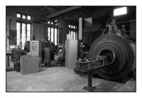 Machine d'extraction à vapeur du puits Kosciuszko, Kopalnia Ignacy, Rydultowy, Slask, Polska, 2008 - numérique