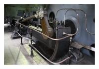 Machine d'extraction à vapeur du puits Glowacki, Kopalnia Ignacy, Rydultowy, Slask, Polska, 2008 - numérique
