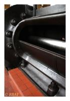 Machine d'extraction à vapeur du puits Gustav 2, Grube Velsen, Grossrosseln, Saar, Deutschland, 2009 - numérique