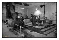 Machine d'extraction à vapeur du puits Důl Julius III, Most-Litvinov, Tchekia, 2008 – numérique