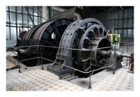 Machine d'extraction électrique à tambour, Dul Michal, Ostrava-Michalkovice, Ceska Republika, 2008 - numérique