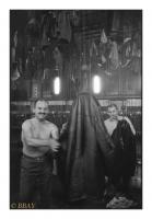 Salle des pendus blanche, Charbonnage du Roton, Farciennes, Belgique, 1983 - argentique