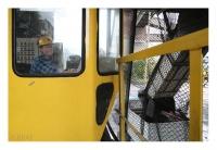 Trémies de chargement des camions, Kopalnia Sobieski, Tauron Wydobycie SA, Jaworzno, Śląsk, Polska, 2015 – numérique
