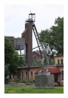 Statue du mineur Alekseï Stakhanov, Waxta n°5, Novovolynsk, Ukraina, 2011 - numérique